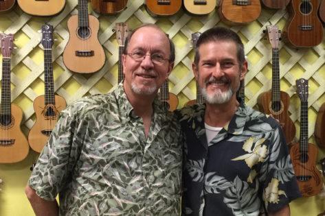 Mike Lehner & Jeff Hanna at The Ukulele Place