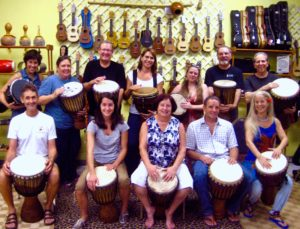 Beginner W. African Djembe, Weekly Hand-drumming Classes this Spring!